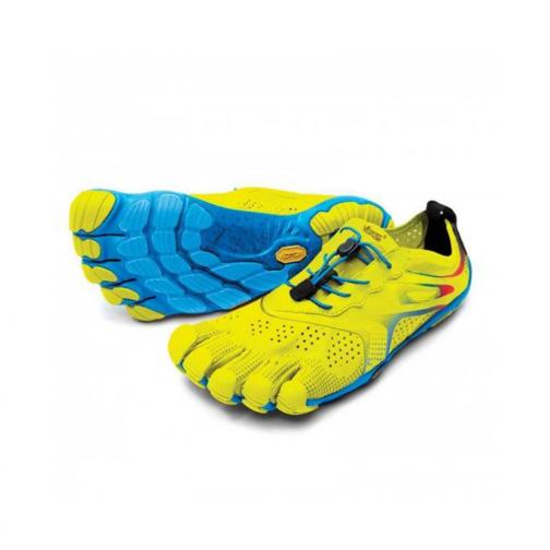 Vibram Fivefingers V-run Yellow Blue